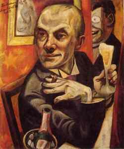 1919-beckmann-self
