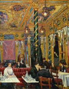 Charles Ginner Cafe Royal1911