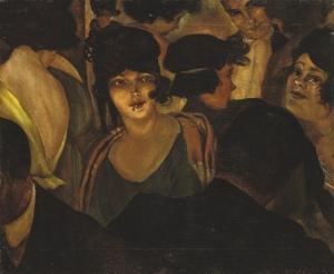 Christian Schad.caf-d-italia 1921