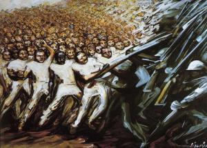 David Alfaro Siqueiros.struggle-emancipation1961