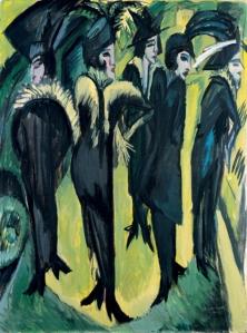 Ernst Ludwig Kirchner-greenwomen
