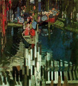 Frantisek Kupka.pianokeys-lake1905