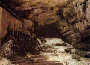 g.courbet-Source of the Loue