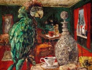 Karl Zerbe-Parrot.Decanter1934