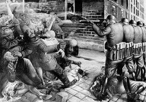otto_dix-Straßenkampf.Street Fight. 1927