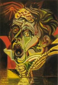 André Masson -portraitpoet kleist1939
