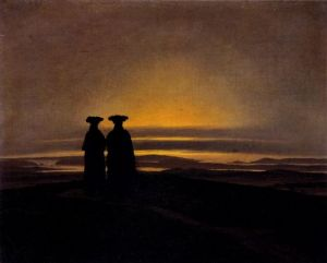 caspar-david-friedrich-sunset