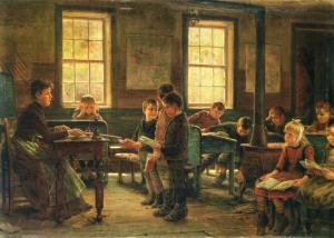Edward-Lamson-Country-School