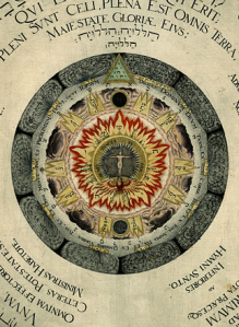 Heinrich Khunrath1595.cosmic rose2