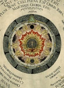 Heinrich Khunrath1595.cosmic rose2