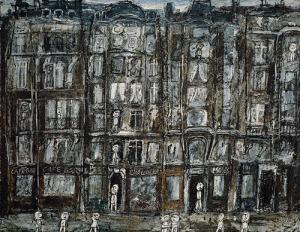 Jean Dubuffet.apartmenthouses