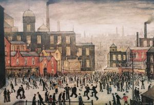 l.s.lowry-ourtown