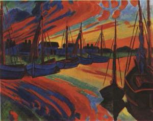Max Pechstein1922.harbour