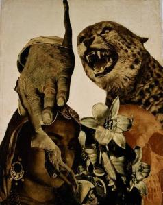Vajda Lajos.tiger-and-lillies-1933