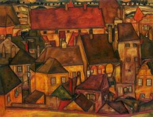 yellow-city.EgonSchiele