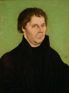 Lucas Cranach the Elder.portrait-of-martin-luther