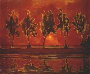 p.mondrian-treesmoonrise-1908