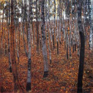 beech-forest.Klimt