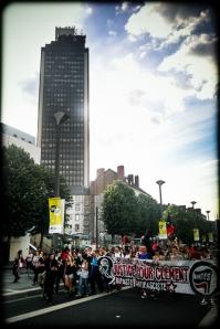 Manifestation en hommage a Clement Meric, No Pasaran ! , Nantes, le 6 juin 2013