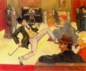 Albert Bloch.dancer-ragtime1911