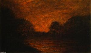 Albert-Pinkham-Ryder-Pond-in-Moonlight