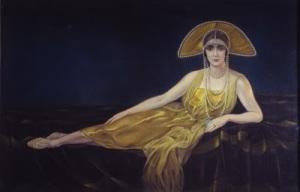 Alberto Martini, Ritratto Wally Toscanini1925