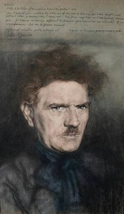 Austin Osman Spare, -Self as Hitler-1936