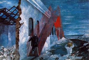 Ben Shahn, Red Stairway1944