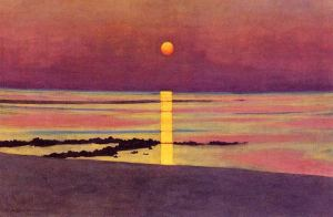 Felix Vallotton Sunset