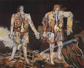 G.baselitz-The Great Friends