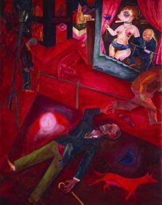 George Grosz, Suicide1916