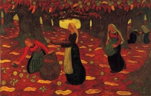 Georges Lacombe chestnut-gatherers