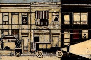 Gerd Arntz .Street1924