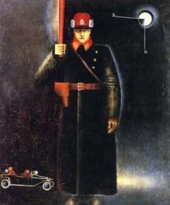 K.A. Vjalov, Policeman1923