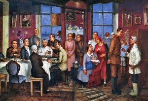 kuzma-petrov-vodkin-housewarming-1937