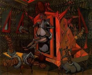 Lucien Coutaud, L'armoire-chair de la porteuse de pan1947