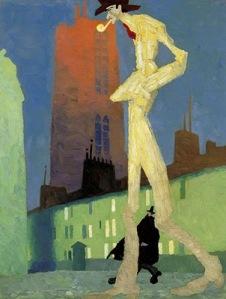 Lyonel Feininger- White Man1907