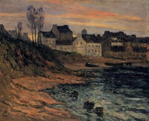 Maxime Maufra.twilight-winter-douarnenez