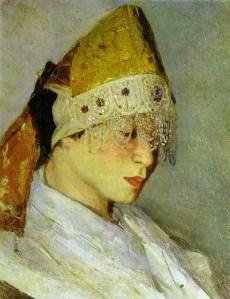 Mikhail Nesterov (1862-1942) Marya Nesterova