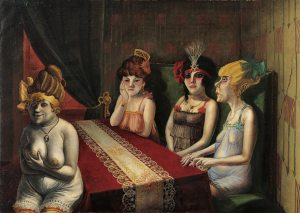 Otto Dix-The Saloon1921