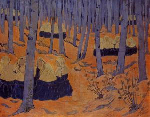 Paul Serusier.breton-women-the-meeting-in-the-sacred-grove