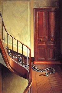 Pierre Roy, Danger on the Stairs1927