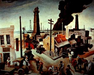 Thomas Hart Benton, Boomtown1928