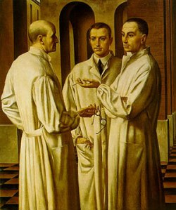 Ubaldo Oppi, The Three Surgeons1926