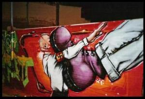 antifa-graff