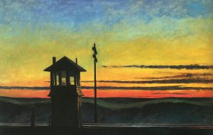 Edward Hopper, Railroad Sunset1929