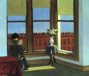Edward Hopper, Room in Brooklyn1932