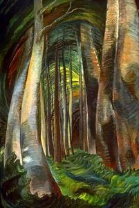 Emily Carr .Woods inter