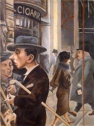 g.grosz-Street Scene1925