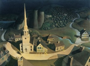 Grant Wood, Midnight Ride of Paul Revere1931